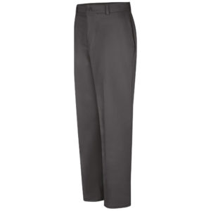 Charcoal 100% Cotton Wrinkle Resistant Work Pant