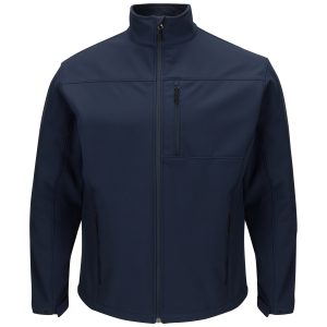 Navy Deluxe Soft Shell Jacket
