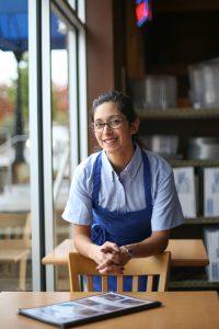 blue aprons for restaurants